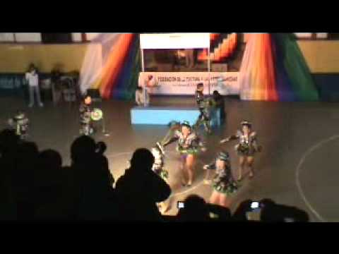 Caporales C. San Miguel Arica Campeonato Danzas Andinas 2011 Parte 1