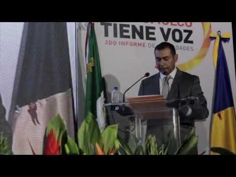 Salvador Zamora, Segundo Informe de Actividades, Tlajomulco
