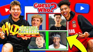 Guess That YouTuber Challenge vs. Jesser - GUESS WHO? #6 YouTube Edition