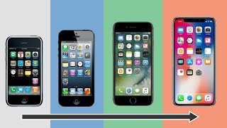 History of the iPhone 2007-2018