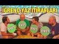 İTİRAF ET: Denizde Kakanı Yaptın Mı? - İğrenç Yaz İtirafları