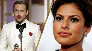 Ryan Gosling Dedicates 2017 Golden Globes Award to Wife Eva Mendes in Emotional Acceptance Speech