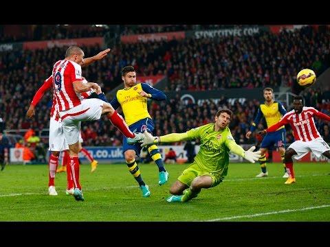 Arsenal 2-3 Stoke City (06/12/2014)