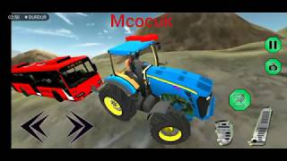 Traktör ile araç kurtarma operasyonu oyunu izle ट्रैक्टर एनीमेशन वीडियो.