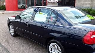 2006 Chevrolet Malibu LS V6 Hometown Motors of Wausau Used Cars