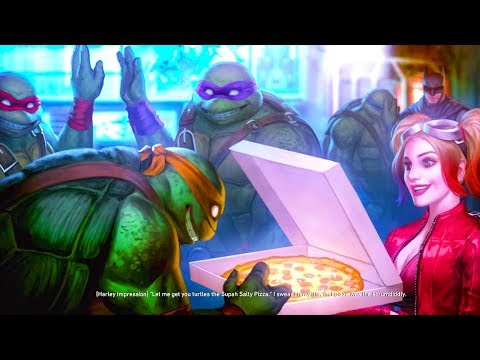 INJUSTICE 2 - NINJA TURTLES ENDING!! Shredder (TMNT ENDING)
