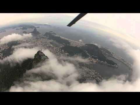 Rio de Janeiro Helicopter tour from Sugar Loaf Mountain around Cristo and Copacabana