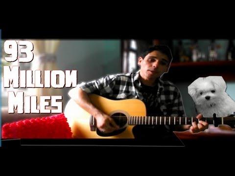 Jason Mraz - 93 Million Miles (Diego Filipe Cover) Tradução PT BR Legendado