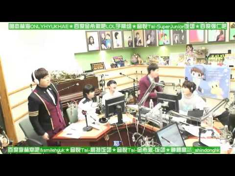 【八站联合中字】140910 Kiss The Radio Ktr Super Junior Cut video