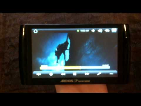 Archos 7 HT Home Tablet Android 1.5 Rooted with Google