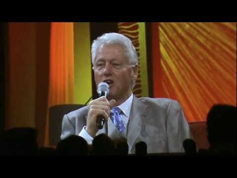 Bill Clinton on Never Quitting and Taking Criticism Seriously but Not Personally - NRF 2012