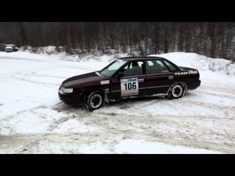 Wyatt Knox First Ever Rally Car Rail Slide!