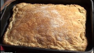 Рыбный пирог из слоеного теста от Марии . Быстрый и вкусный ужин.