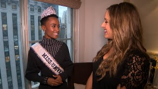 Miss Universe on Being a Role Model for Young Women