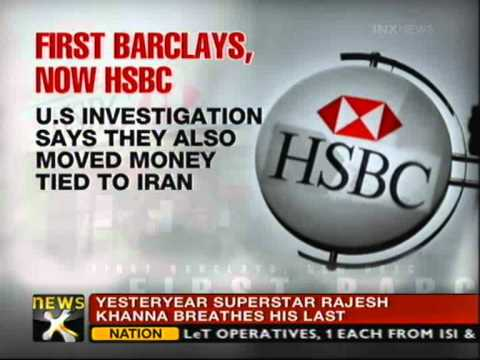 Money laundering taint on HSBC - NewsX