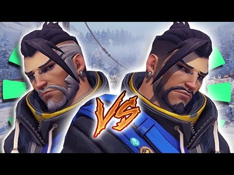 Overwatch - The NEW VERSION of Hanzo's Casual Skin!!