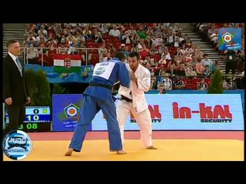 European Judo Championship Budapest 2013 Final -66kg KHAN-MAGOMEDOV (RUS) - SHAVDATUASHVILI (GEO) Image 1