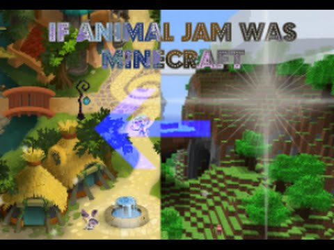 Animal Jam | if Minecraft Was