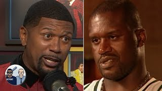 Jalen Rose wants to see Shaq pay off his bet to Steve Kerr | Jalen & Jacoby