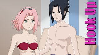Cartoon Hook-Ups: Sasuke and Sakura
