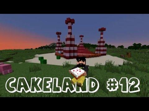 СakeLand #12. Миникупол и ферма рыбалки! (Minecraft)