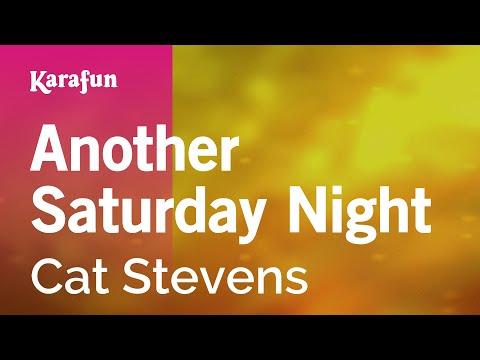 Karaoke Another Saturday Night - Cat Stevens *