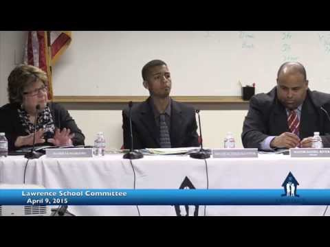 Lawrence School Committee April 2015
