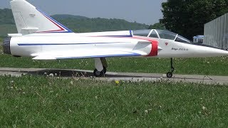 Special RC JET MIRAGE 2000 with a WOOD Impeller