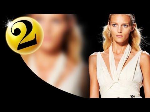 #2 Anja Rubik - Spring 2012 First Face Countdown | Fashiontv - Ftv video