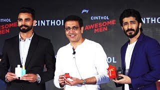 Harshvardhan Kapoor, Arpinder Singh At Launch Of Cinthol Alive Looks For Awesome Men