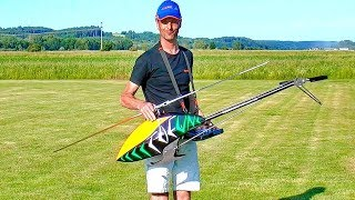 STUNNING AEROBATICS WITH TDF RC MODEL HELICOPTER BY ROBERT SIXT FLIGHT DEMONSTRATION