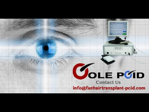 Automated motorized robotic fue hair transplant extraction device machine - The PCID