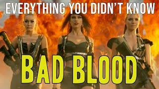 The REAL Meaning Behind Taylor Swift's Bad Blood: Music From Behind