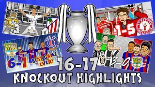 🏆UCL KNOCKOUT STAGE HIGHLIGHTS🏆 2016/2017 UEFA Champions League Best Games and Top Goals MP3