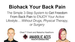 Biohack Your Back Pain - Online Training