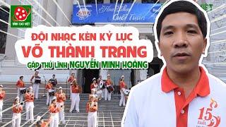 Đội trống kèn Võ Thành Trang biểu diễn tiết mục siêu dễ thương tại Nhà hát lớn Thành phố