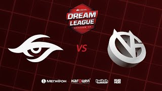 Team Secret vs Vici Gaming, DreamLeague Season 11 Major, bo3,game 1 [Inmate & Maelstorm]