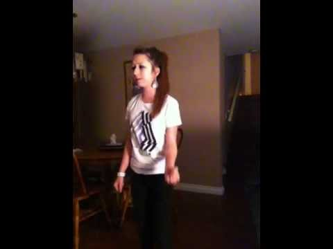 Amanda Todd singing Cover of Outside Looking In by Jordan Pruitt