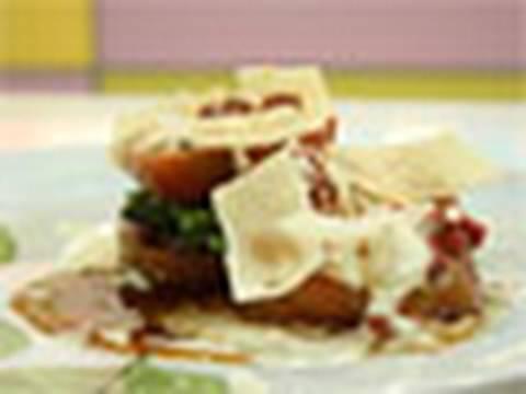 Espárragos verdes con salsa de queso Receta Mira la Vida