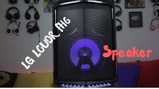 LG LOUDR FH6 Bluetooth Party Speaker!!!