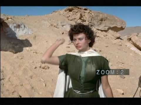 Sophia Loren In Desert Movie + Hot Spider Attack FinaLe Video