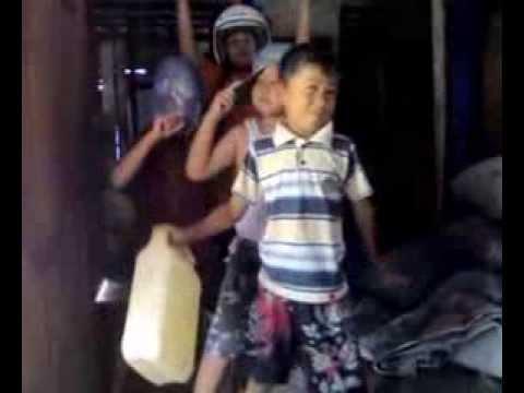 Children Shake In Small Village