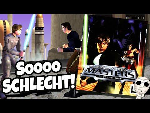 Das SCHLECHTESTE Star Wars Spiel aller Zeiten?! Star Wars: Masters of Teräs Käsi - deutsch gameplay
