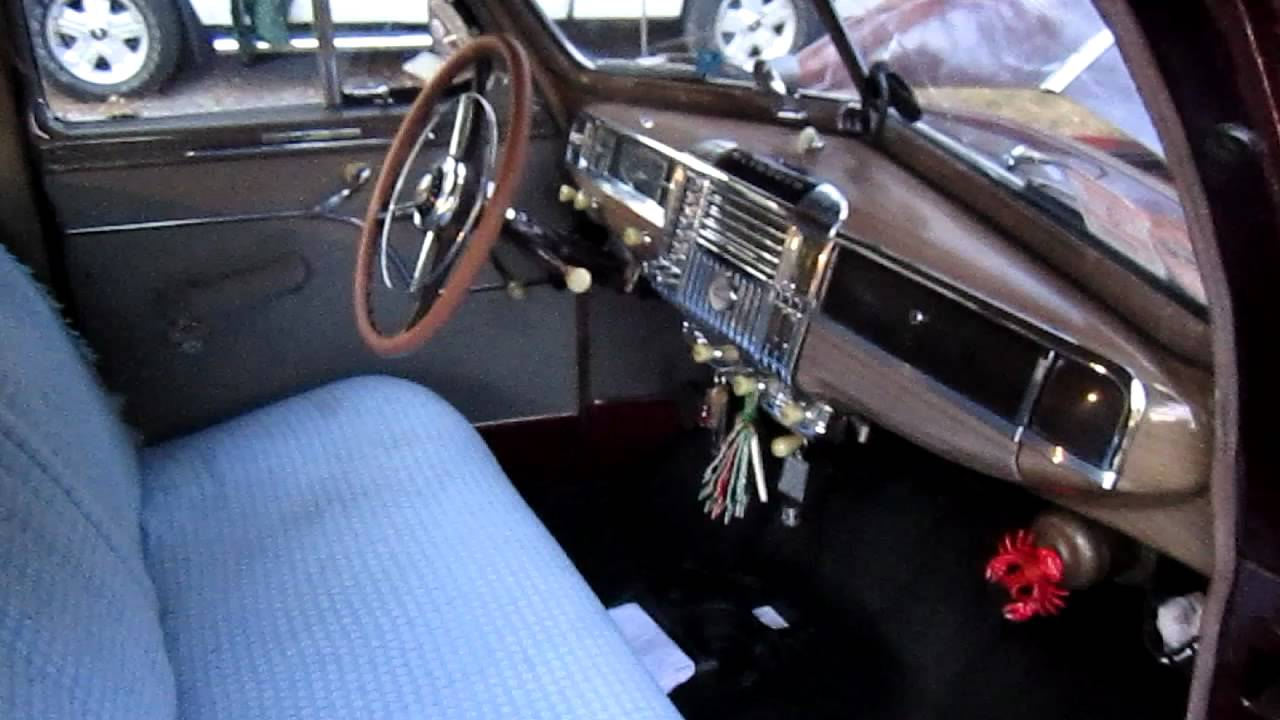 A Tour Of My 1948 Plymouth Special Deluxe Sedan Youtube