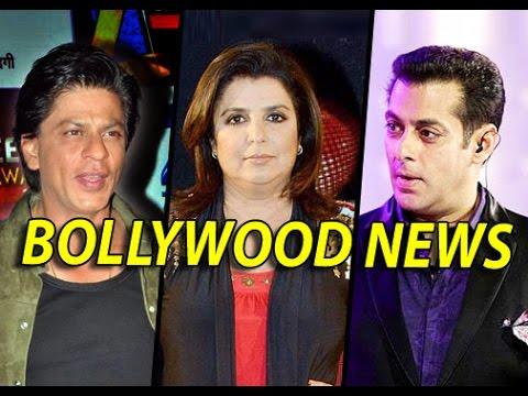 Bollywood News & Gossips - Farah Khan Is Planning A  50-CRORE Film With Shahrukh Khan | 4th Jan.2015