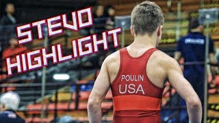 #1 106lbs Wrestler in the Country - Stevo Poulin Highlight
