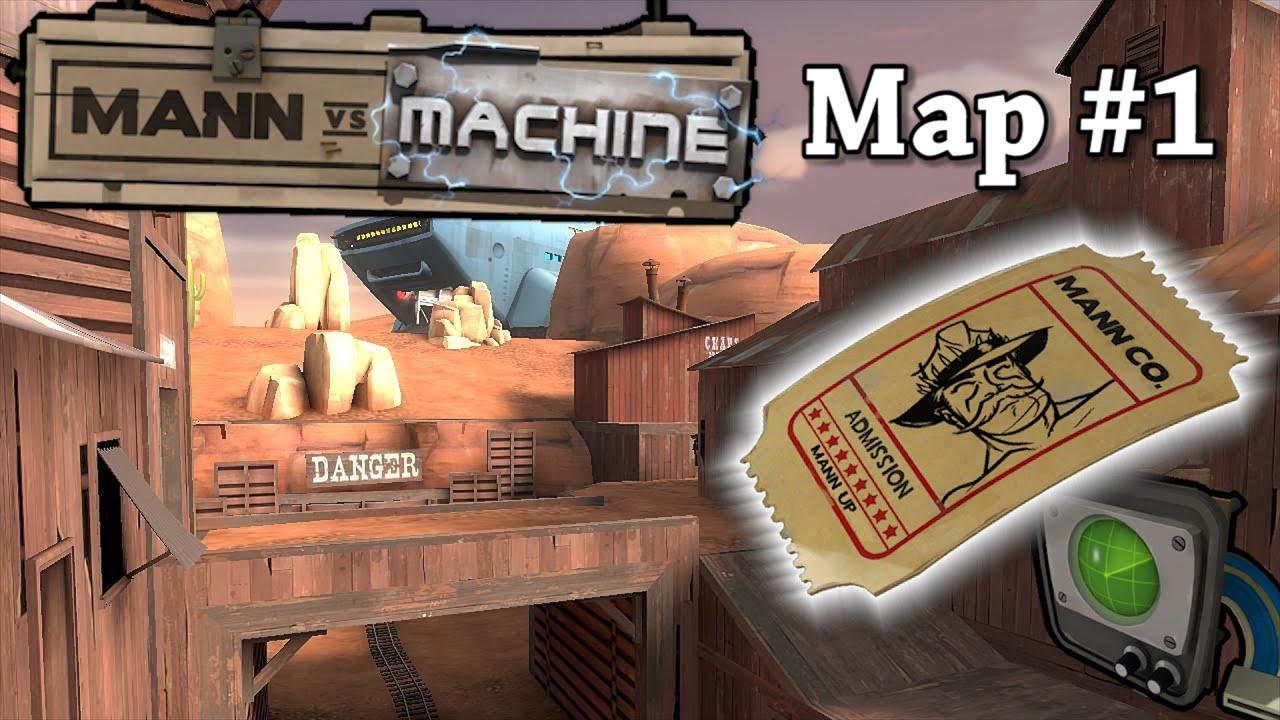 mann vs machine maps