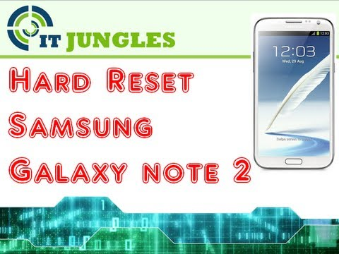 How to Soft and Hard Reset Samsung Galaxy Note 2 (5 Ways)