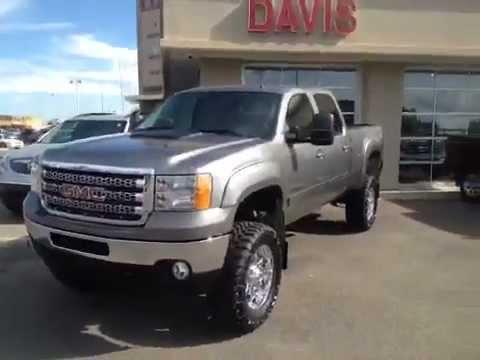 "2012 GMC Sierra 2500HD with a 6.5"" lift, 20"" wheels   #120062   Davis"