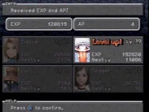 Biggest Possible Level Leap in FFIX